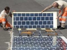 法国 太阳能 路面