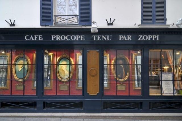 巴黎 普罗柯佩咖啡馆(Le Procope)