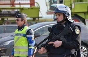 巴黎 警察 反恐