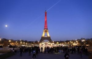 布鲁塞尔 恐怖袭击 巴黎