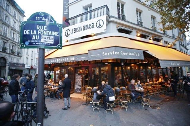 巴黎 咖啡馆