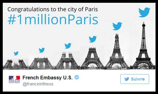 巴黎 推特
