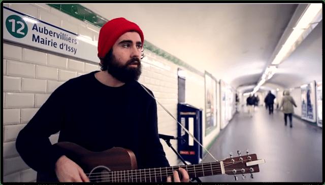 巴黎 地铁 歌手