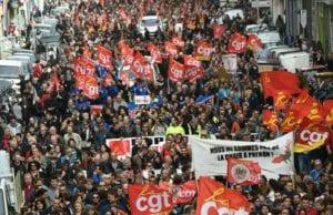 法国 劳动法改革 罢工