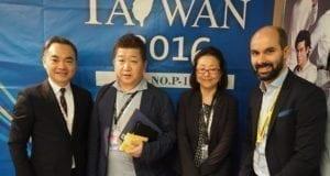 法国坎城影视节展 台湾日茶会活动热闹