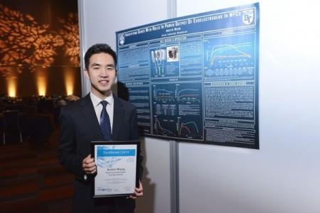 王瀚颉(Austin Wang )在国际生物天才挑战赛中夺冠。(www.lifesciencesbc.ca)