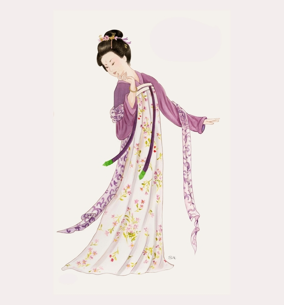 中国 传统文化 古代 女子