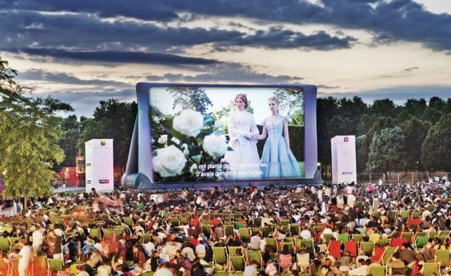 巴黎 电影 维莱特公园(Parc de la Villette)