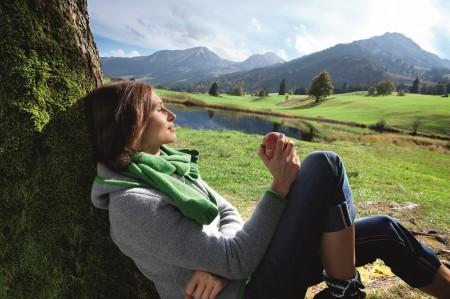 享受大山的静谧。(图片来源:© Allgäu GmbH)
