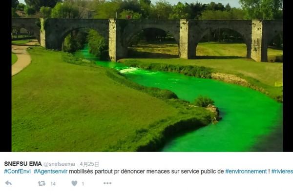 法国 河流 污染
