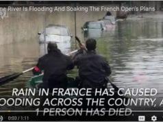 法国 巴黎塞纳河 水灾