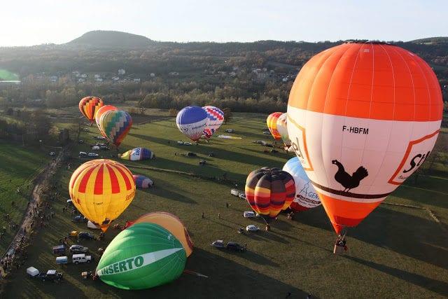 法国 热气球
