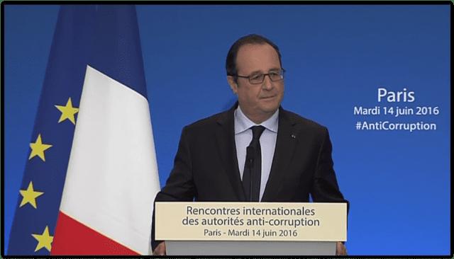 法国 奥朗德 反腐会议 反恐