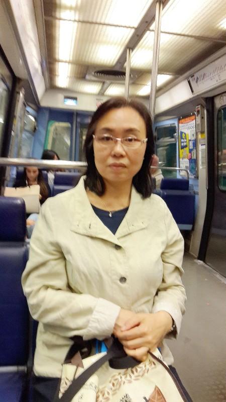 从事城市规划职业的梁雪莲女士。(慈蕊/大纪元)