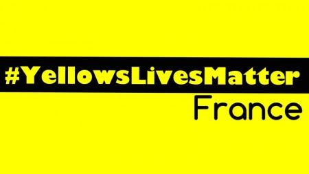 """林春来在脸书和征签网上贴出""""黄种人的命也是命""""(#YellowsLivesMatter)的主题标签。 (林春来脸书)"""