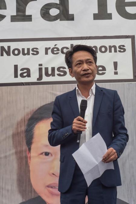 法国华侨华人协会主席池万升先生。(Comité Sécurité Pour Tous )