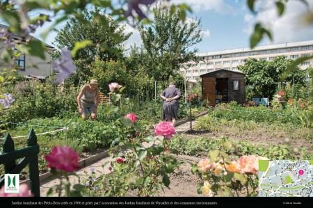 菜园一角的美景。(Ville de Versailles)