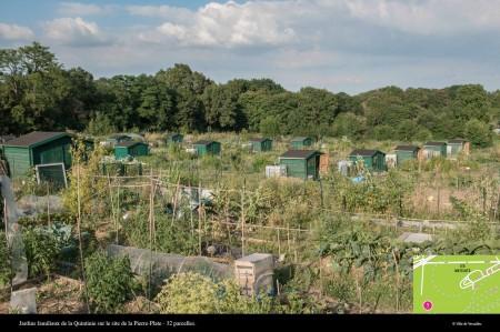 一个个绿色的小木屋是专门用来放置耕地工具的地方。(Ville de Versailles)