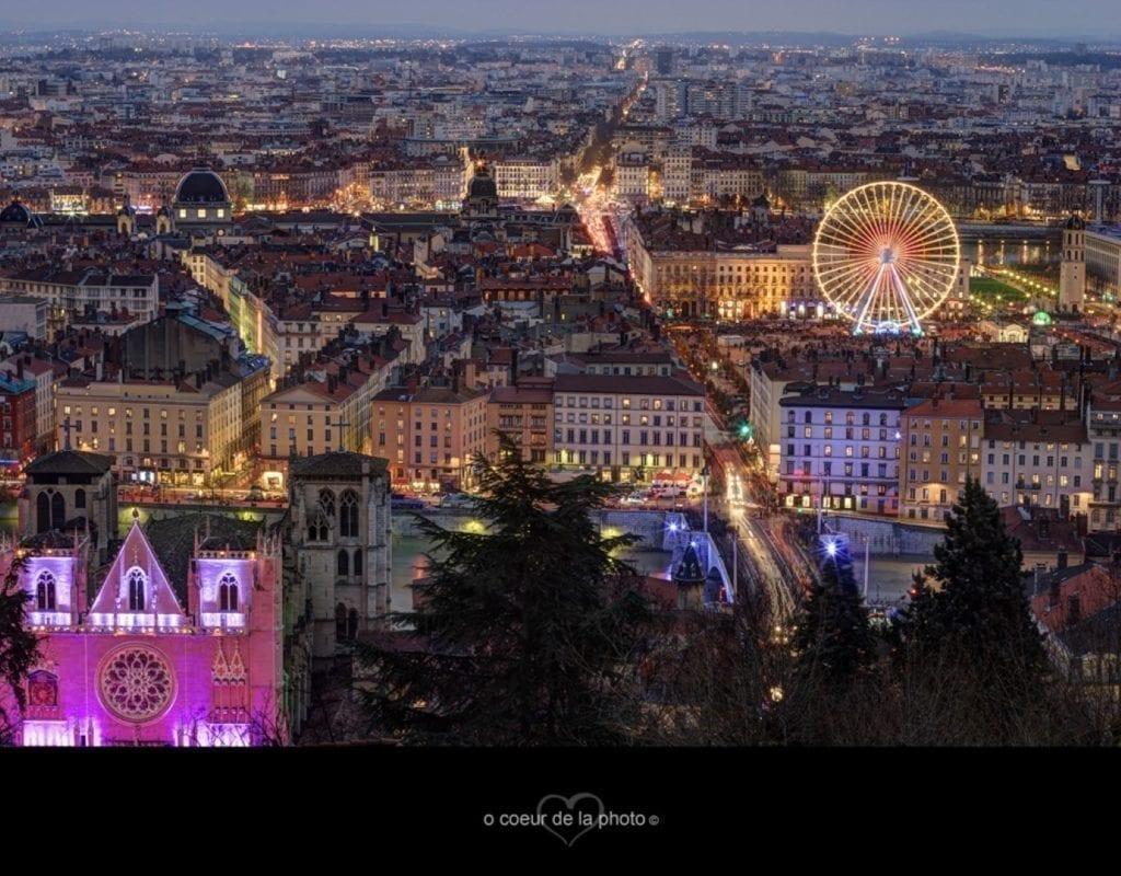 里昂夜景。(Flickr.com)