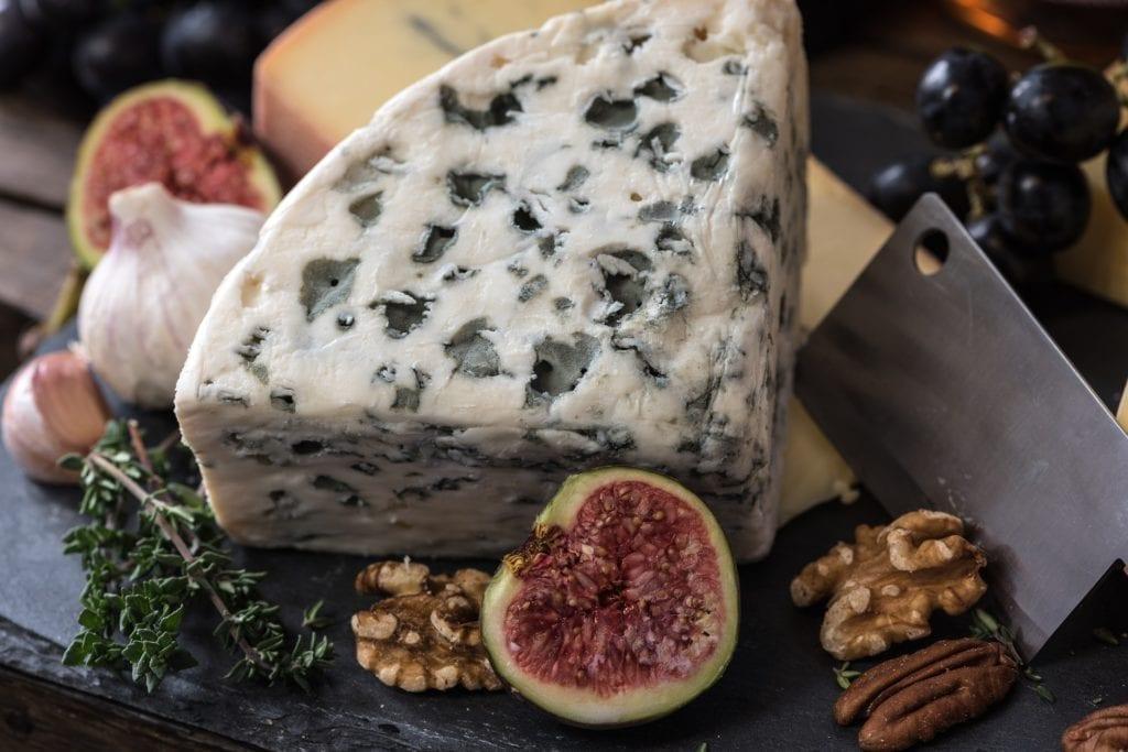 蓝纹乳酪(pixabay)