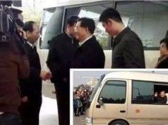 胡锦涛回江苏泰州(视频截图)