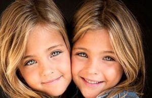世界上最漂亮的双胞胎姐妹。(图片:clementstwins/facebook)