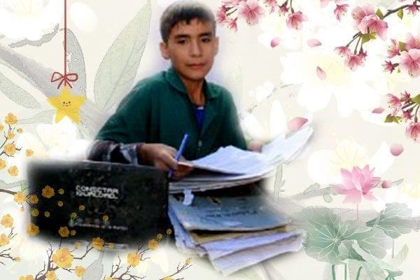 九岁的孩子办学校当校长,这孩子简直是天使啊。(图片:youtube视频截图/Tiempo De San /希望之聲合成)