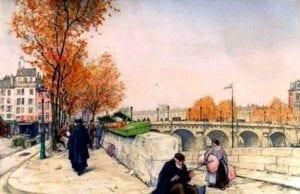一百年过去,人家欧洲的城市还跟画的一样!(網絡圖片)
