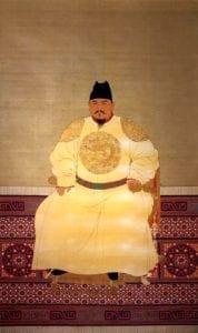 大明太祖武皇帝朱元璋(1368年-1398年在位)(圖片:維基百科)