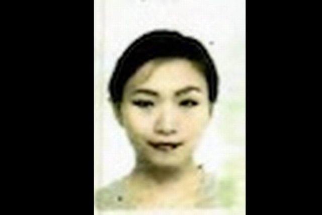 张玉婧护照照片(网络截图)