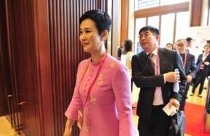 李小琳在博鳌亚洲论坛上