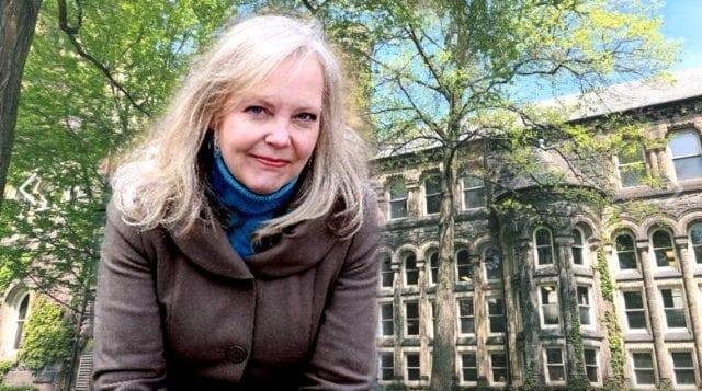Pauline Dakin是加拿大国王学院大学新闻系的一名助教(圖片:歐洲希望之聲合成)