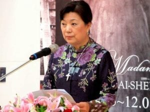 蔣經國的兒媳婦蔣方智怡 (圖片:維基百科)