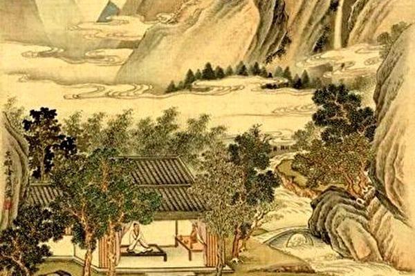 琴艺传神的师旷(图片:国立故宫博物院)