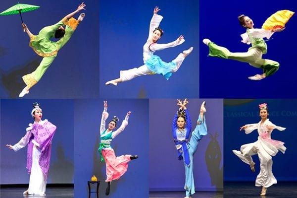 中國古典舞:上天賜予人類的瑰寶(圖片版權歸屬原作者)