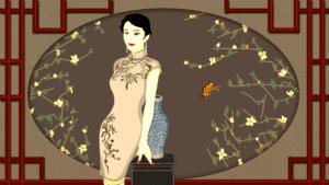 1920年代-刘海短发(授權圖片)