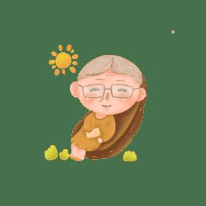 你唯一可以炫耀的是:你的健康!当别人都走了,你还可以晒着太阳、喝着茶,享受着健康的生活(授權圖片)