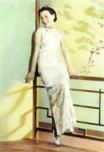 周璇三十年代在上海王开照相拍摄的照片(圖片:維基百科)