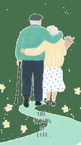 少年夫妻老来伴,老年夫妻怎么办(授權圖片)