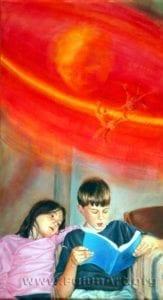 『《同化》:Kathy Gillis油彩.画布32 in x 57.5 in(2004年)版權歸屬原作者』