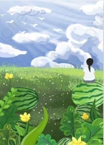 自家种的西瓜