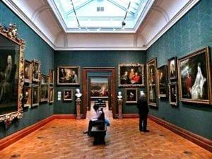 英国国家肖像馆走廊(圖片:flickr可再利用)