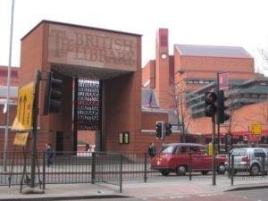 大英图书馆,圣潘克拉斯(St Pancras)正门