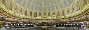 大英博物馆阅览室全景