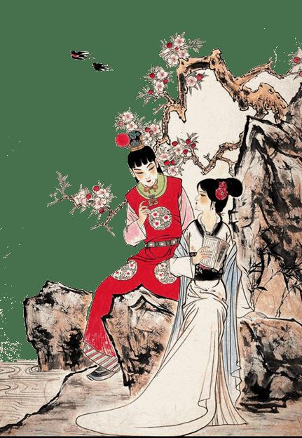 黛玉究竟多有才?和她一起領略五位古代美女的風華「五美吟」(授权图片)
