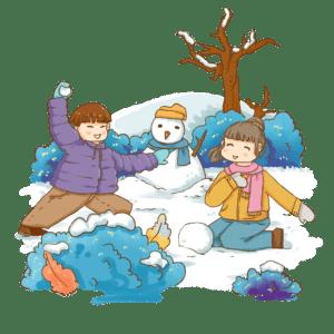 打雪仗(授权图片)