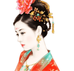 唐朝的女人们在梳妆打扮方面的技巧和要求之高比我们现代人还要有过之而无不及,中国唐代汉族妇女在服饰发式的创新上给人以极高的艺术享受(授权图片)