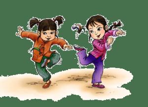 踢毽子(授权图片)