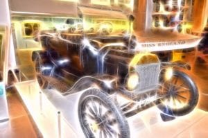 金星閃爍豪華車(圖片:Public Domain Pictures可再利用)