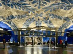 地铁站美上天了,我要天天去坐地铁! 你呢?(图片来源:instag/ziavirgi截图)